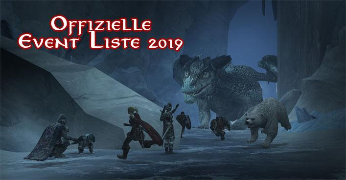 Offizielle Events 2019