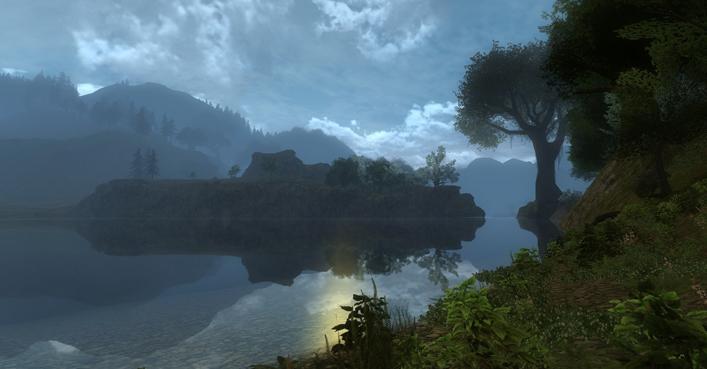 Die Ufer des Anduin