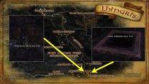 Der 2. Stein - Lhingris (Übersichtskarte)